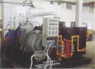 宁波鲍斯 煤层气回收螺杆压缩机组 通过鉴定